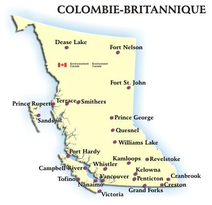 Géographie et climat  cartes géographique de la Colombie